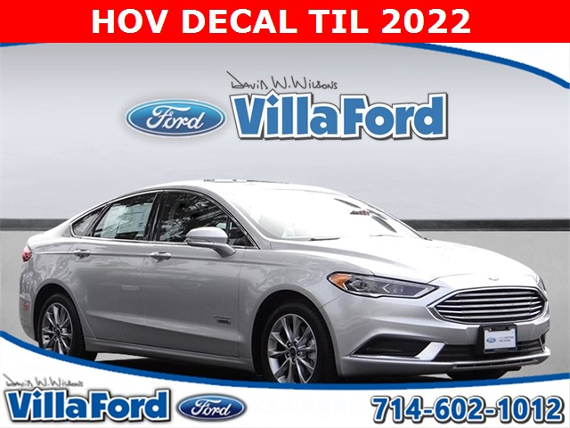 Certified Pre Owned 2018 Ford Fusion Energi Se Luxury