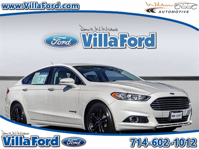 Certified Pre Owned 2016 Ford Fusion Hybrid Anium