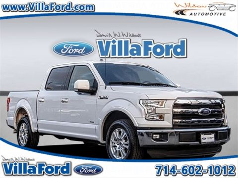 certified pre owned 2015 ford f 150 xlt 4d supercrew in orange 00p13515 david wilson 39 s villa ford. Black Bedroom Furniture Sets. Home Design Ideas